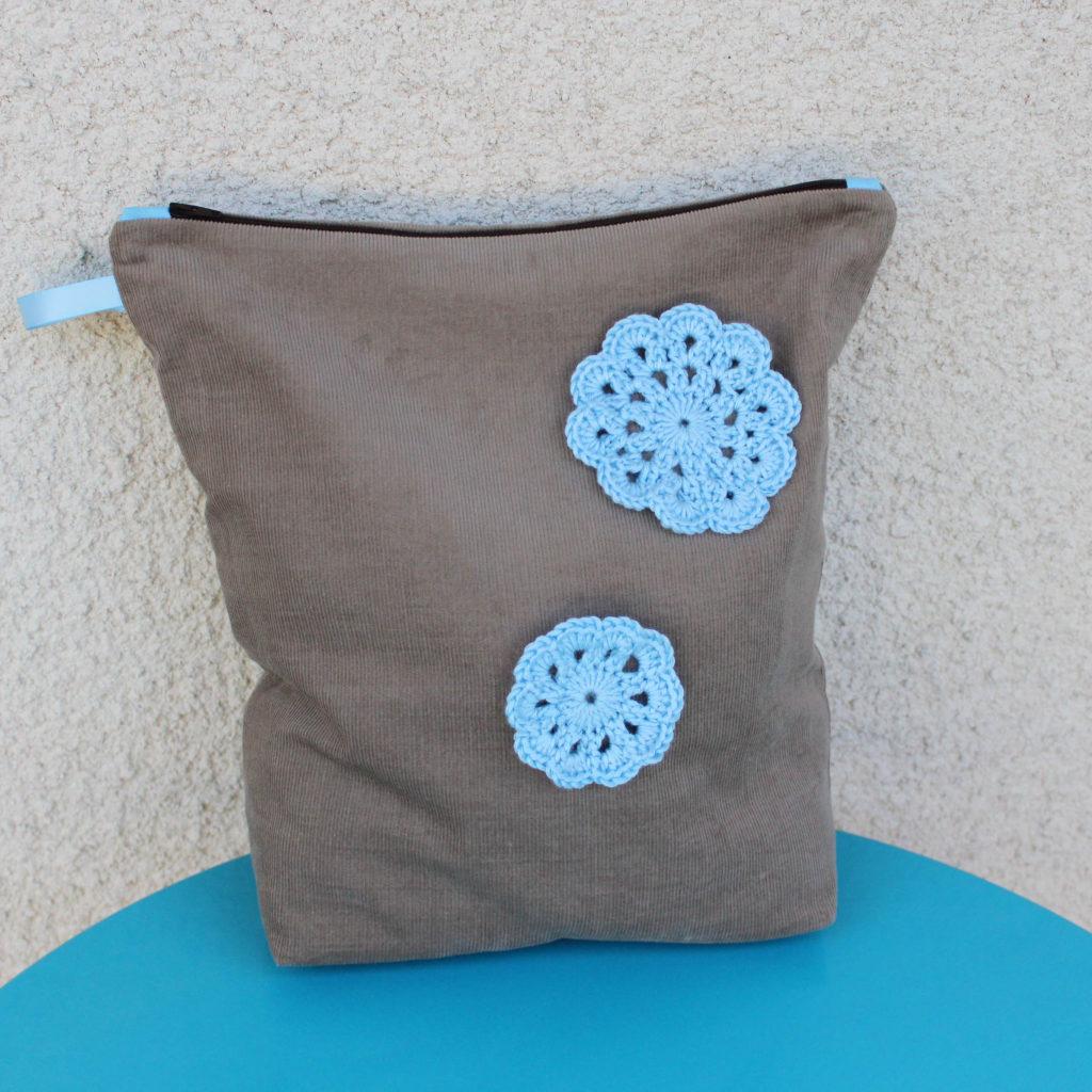 Mon sac à crochet et fleur en crochet - les lubies de louise (1 sur 6)