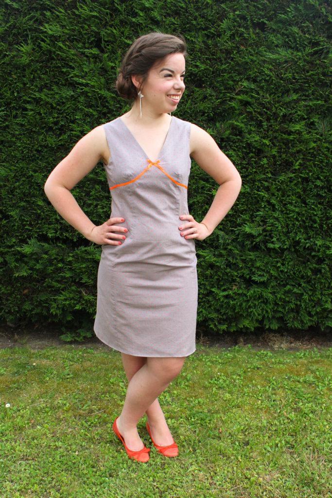 Une nouvelle petite robe d'été