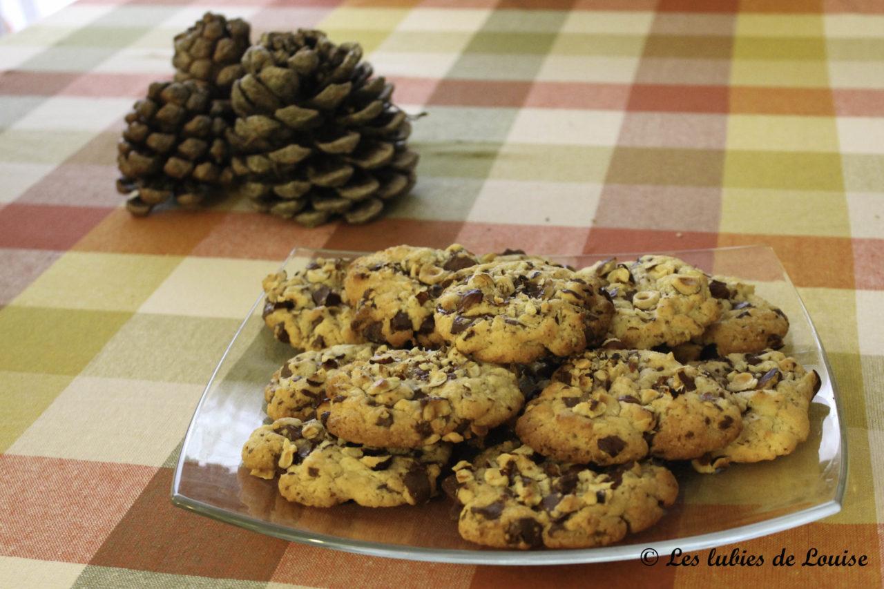 recette cookies chocolat noisettes les lubies de louise. Black Bedroom Furniture Sets. Home Design Ideas