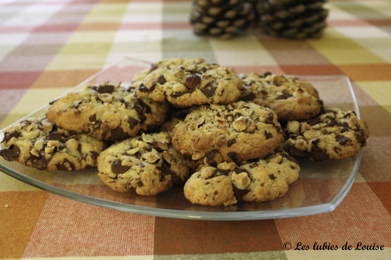 recette cookies chocolat noisettes les lubies de louise 2 sur 5 les lubies de louise. Black Bedroom Furniture Sets. Home Design Ideas