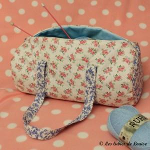 Les tutoriels de louise les lubies de louise - Tuto sac tricot en tissu ...