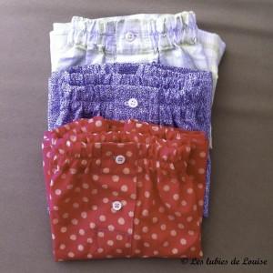 modèle caleçon sur mesure couture - Les lubies de Louise (4 sur 4)