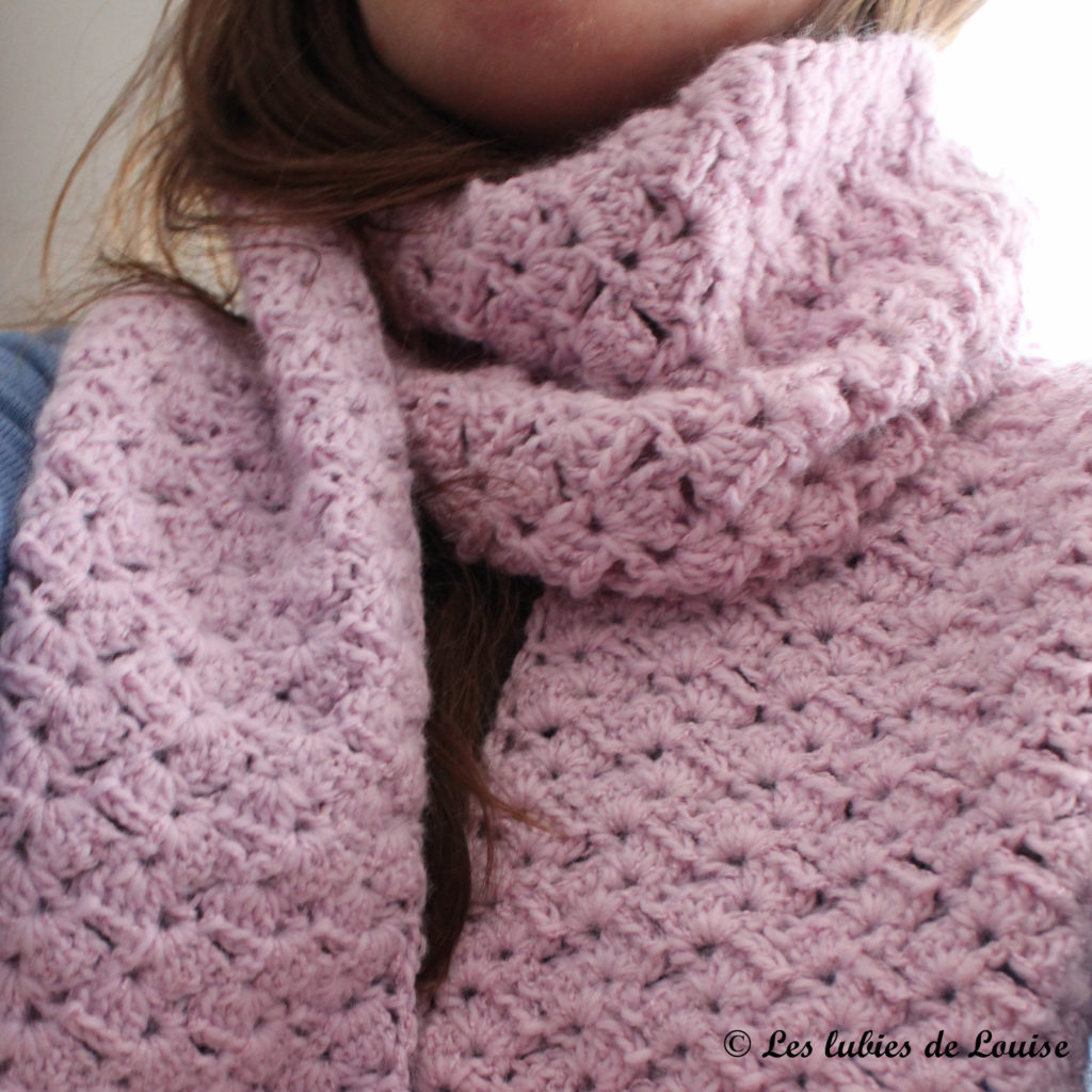Mon écharpe en crochet -  les lubies de louise-4
