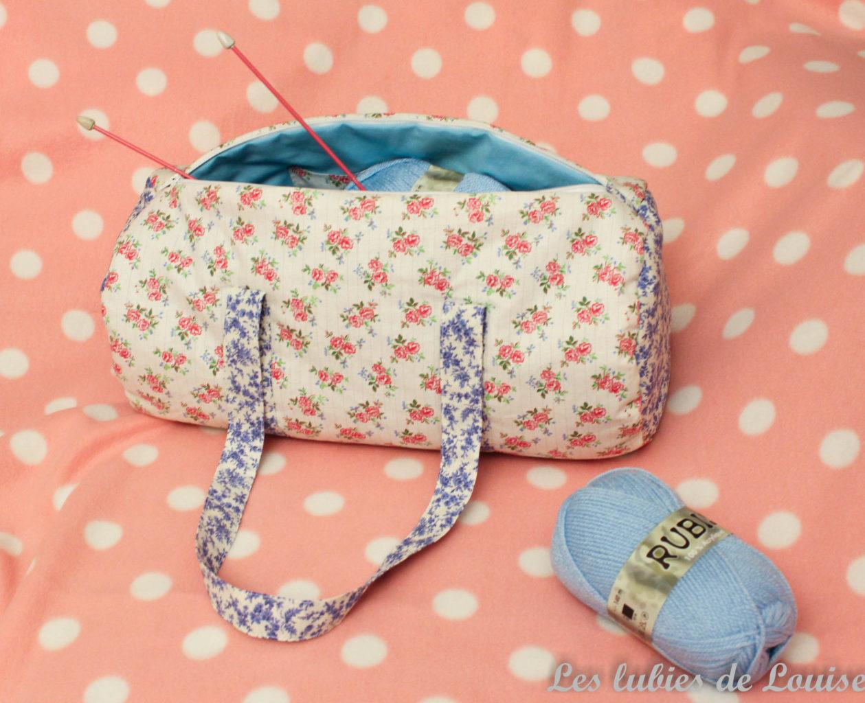 Un joli sac à tricot {DIY}