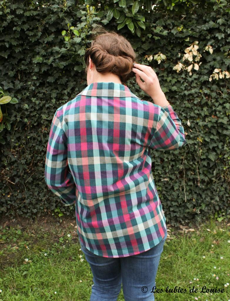 Chemise à carreaux pour Alice - Les lubies de louise-12