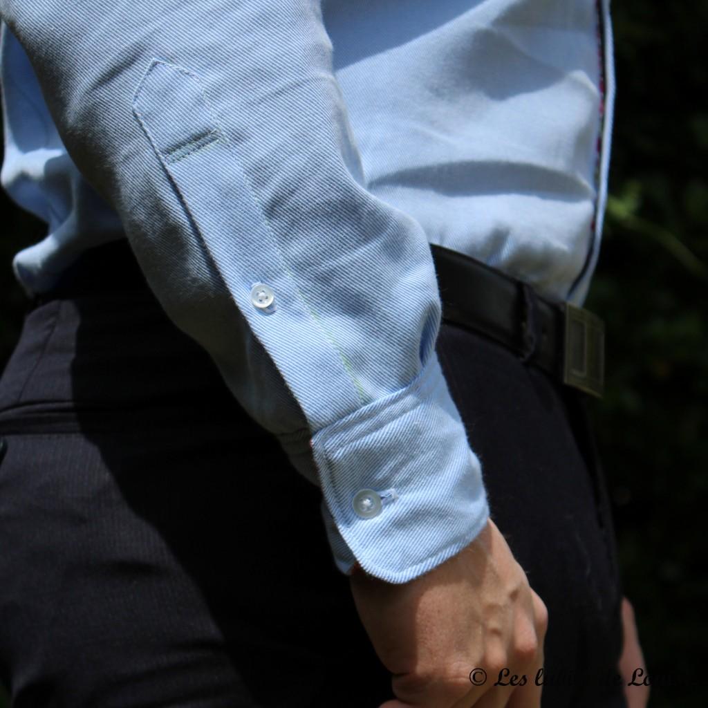 Chemise de costume val et noeud papillon - Les lubies de louise-10