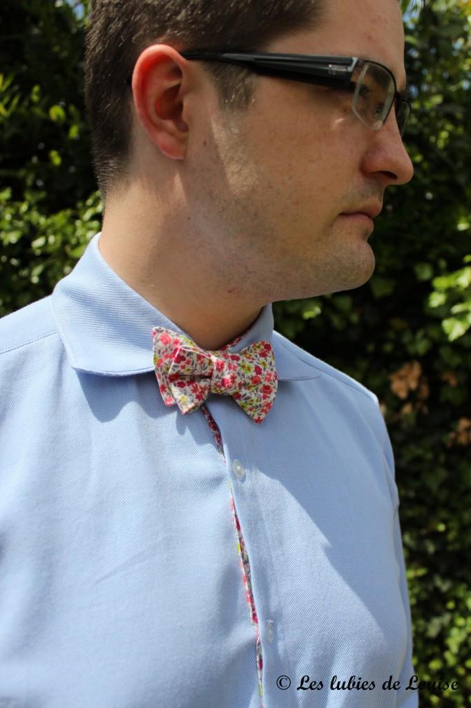 Chemise de costume val et noeud papillon - Les lubies de louise-11