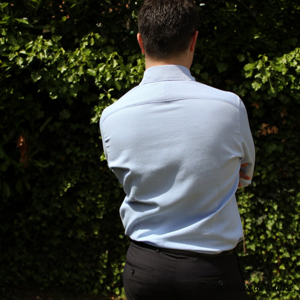 Chemise de costume val et noeud papillon - Les lubies de louise-13