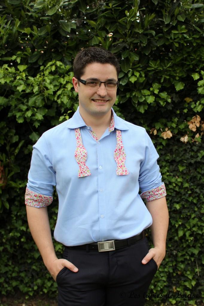 Chemise de costume val et noeud papillon - Les lubies de louise-22