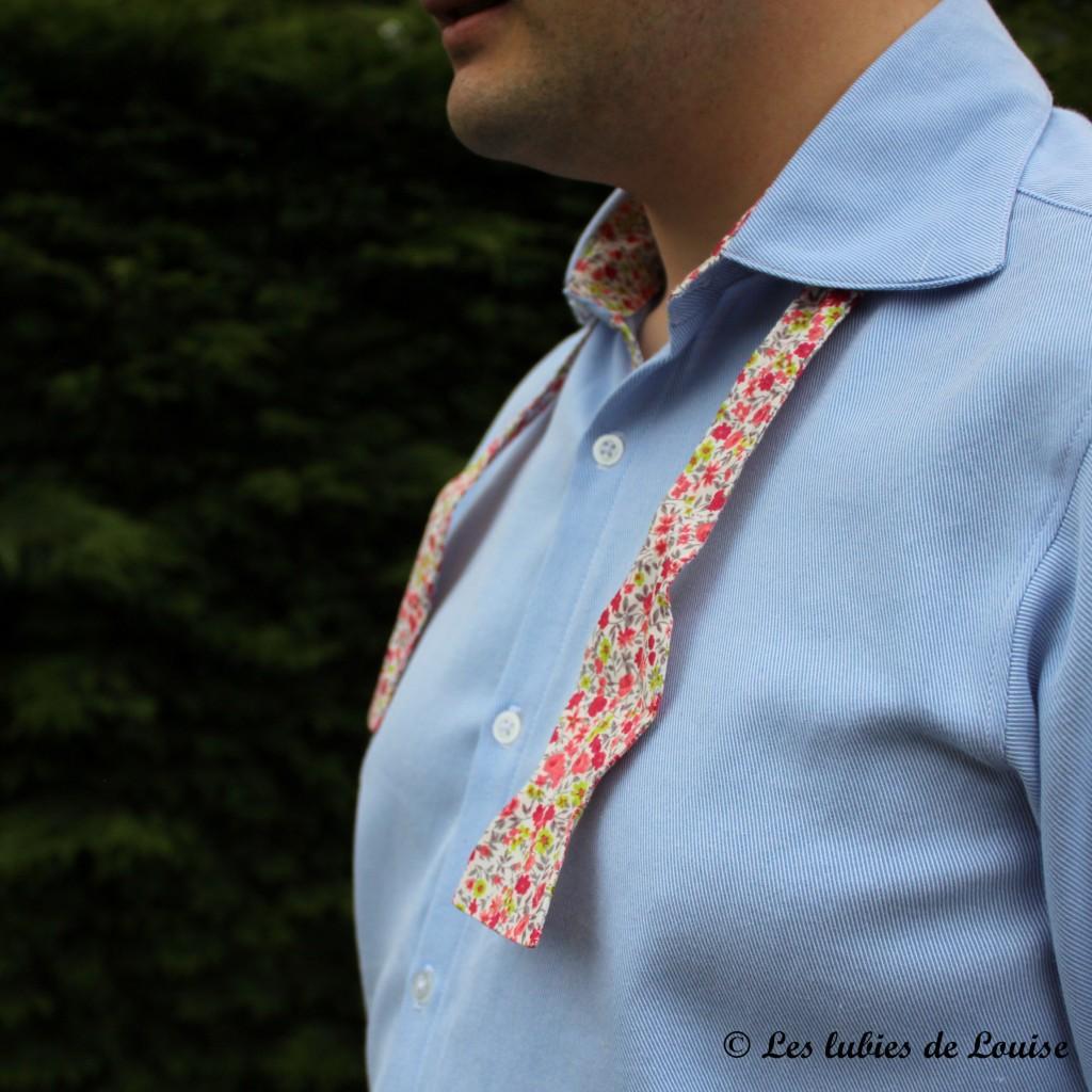 Chemise de costume val et noeud papillon - Les lubies de louise-29