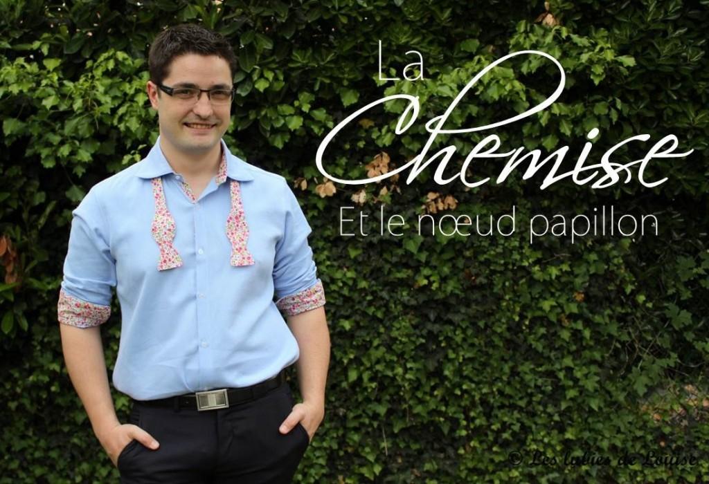 Chemise de costume val et noeud papillon - Les lubies de louise-titre