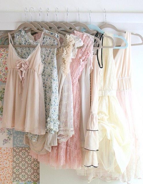 wardrobe pastel