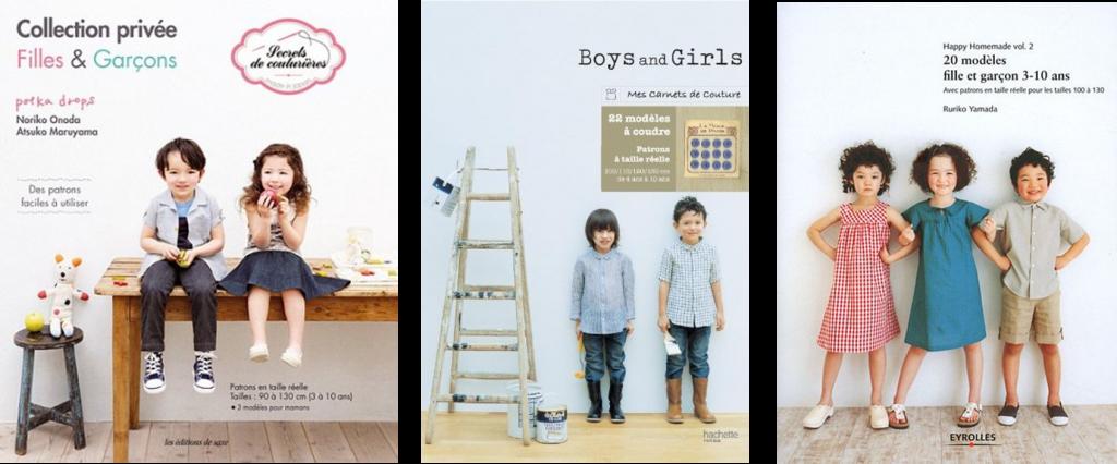 sélection livre vêtement enfants rentrée des classes couture - les lubies de louise