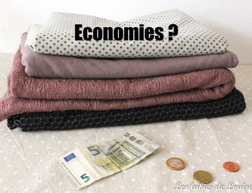 Coudre est-il économique ?
