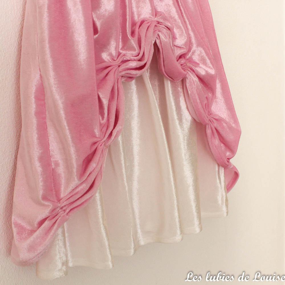 robe de princesse rose - Les lubies de louise-3