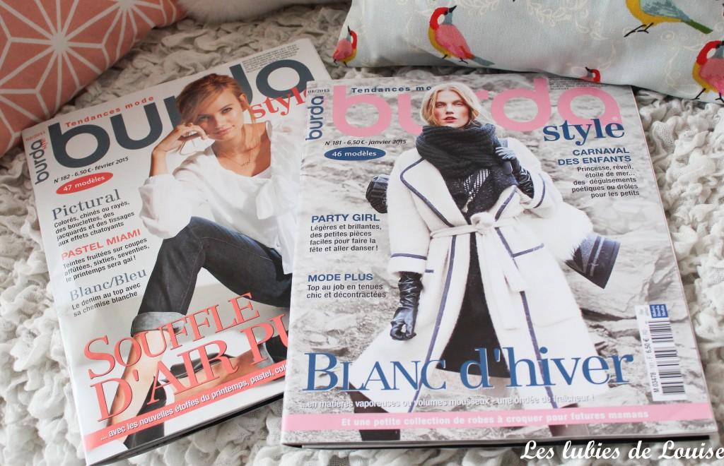 Les magazines Burda de début d'année