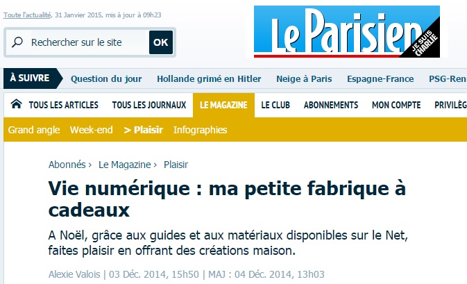 Citation dans Le parisien