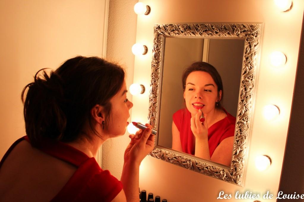 Ma robe rouge de la Saint Valentin ♥