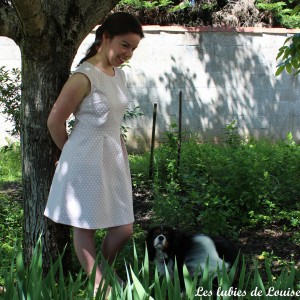 Ma robe rétro à pois - les lubies de louise-2