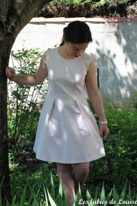 Ma robe rétro à pois - les lubies de louise-4