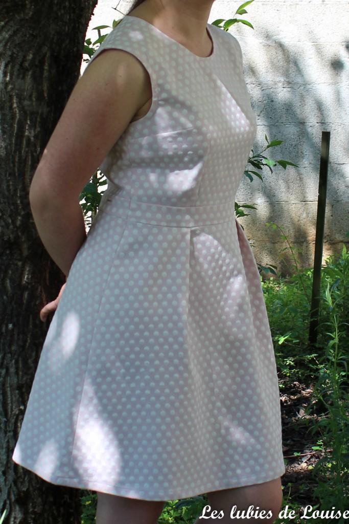 Ma robe rétro à pois - les lubies de louise