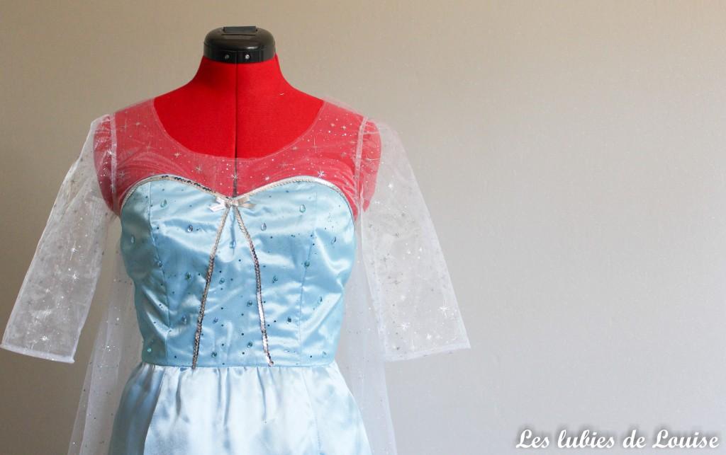 Costume reine des neiges Frozen- les lubies de louise