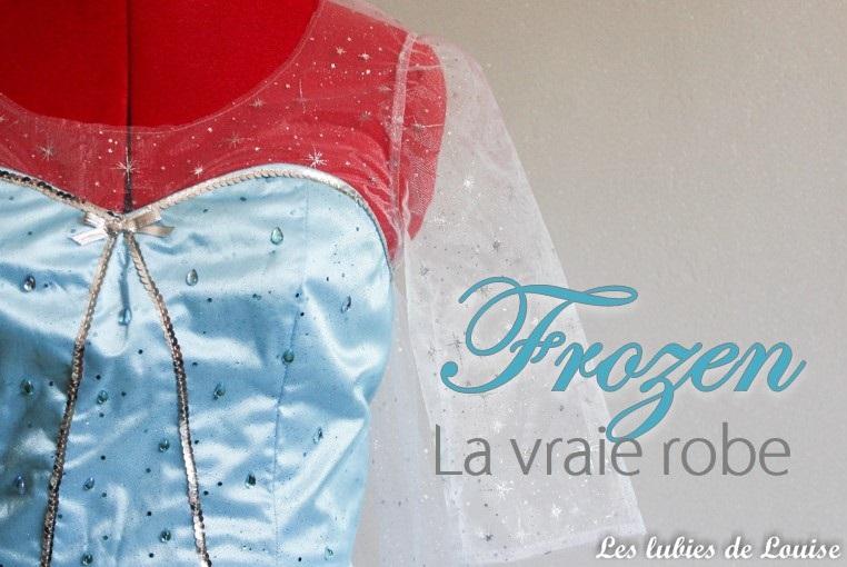La vraie robe de la reine des neiges