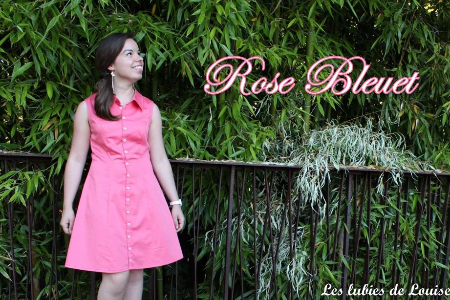 Rose bleuet