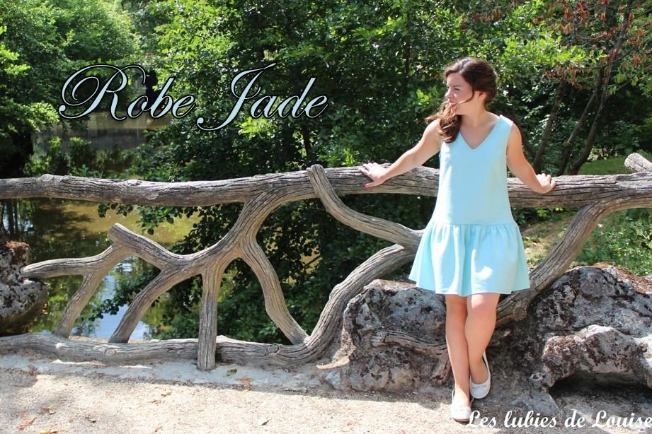 Robe Jade louis antoinette - les lubies de louise-titre