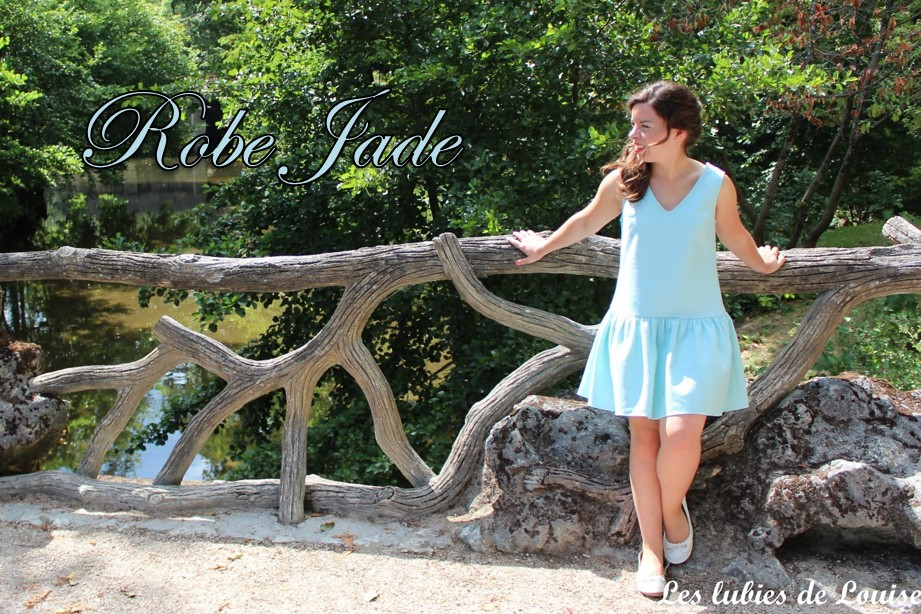 Ma robe Jade «de princesse»