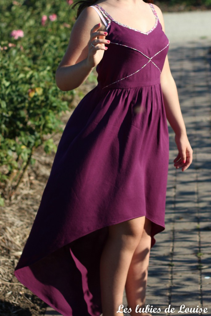 Robe centaurée mariage violet - les lubies de louise-25
