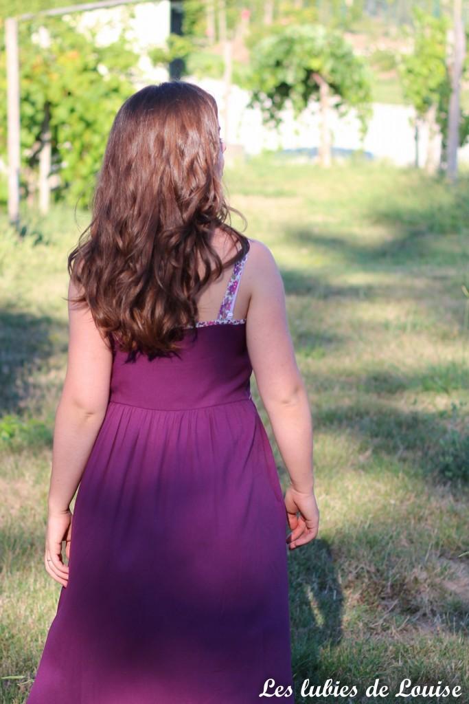 Robe centaurée mariage violet - les lubies de louise-3