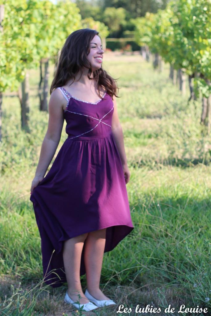 Robe centaurée mariage violet - les lubies de louise-8
