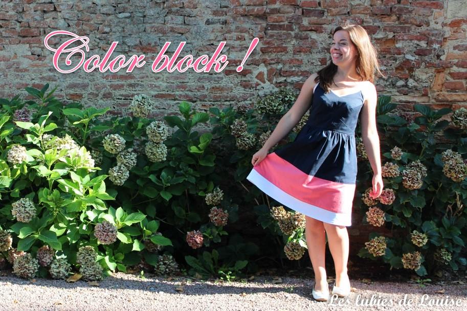 Ma robe centaurée tricolore