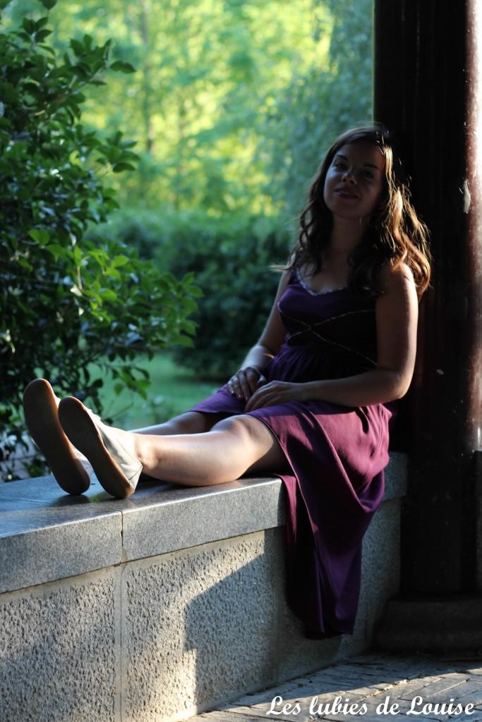 Robe centaurée mariage violet - les lubies de louise-89