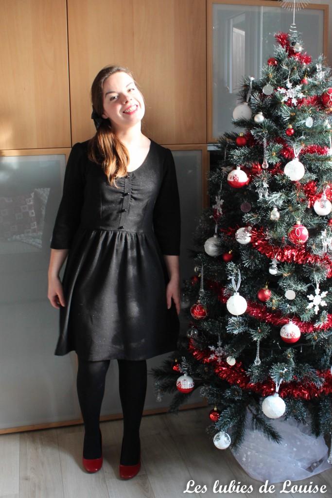 Ma robe à paillettes - les lubies de louise