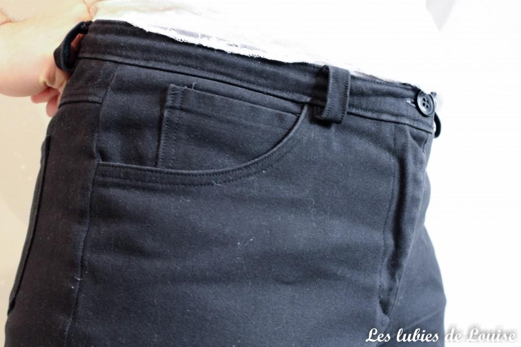 Pantalon noir sur mesure- les lubies de louise-3