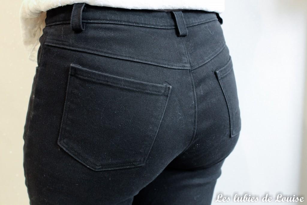 Pantalon noir sur mesure- les lubies de louise-5