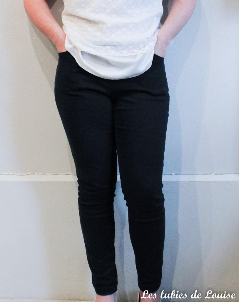 Pantalon noir sur mesure- les lubies de louise-7
