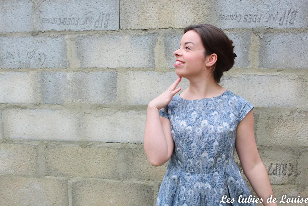 Robe toupie Eglantine et Zoé - les lubies de louise-4