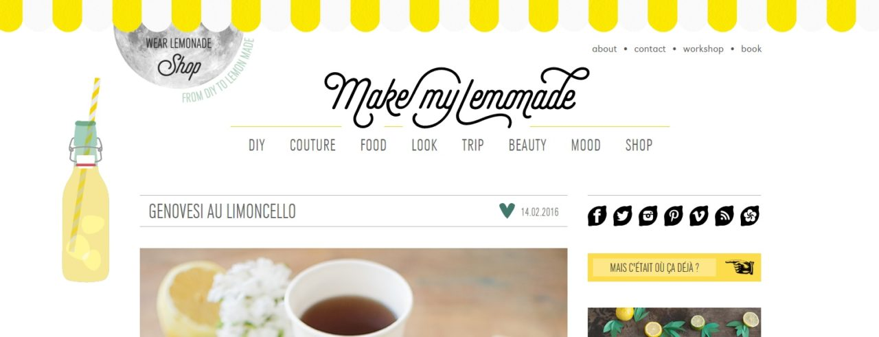mes blogs favoris make my lemonade