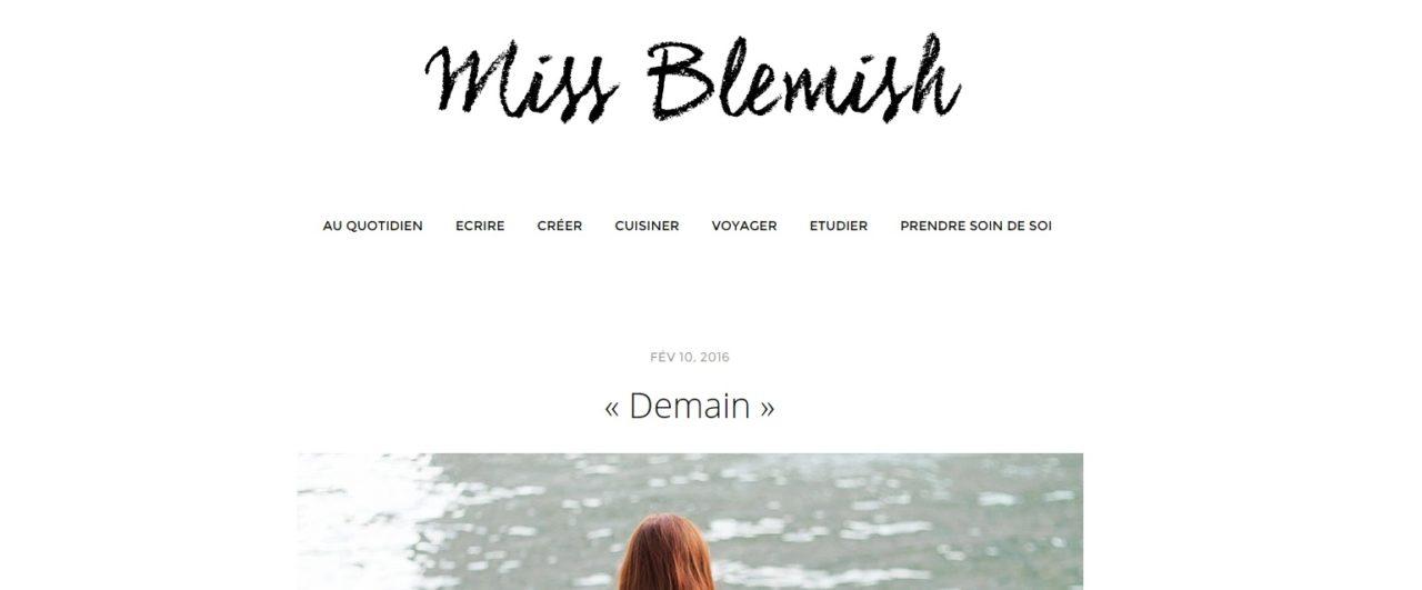 mes blogs favoris miss blemish