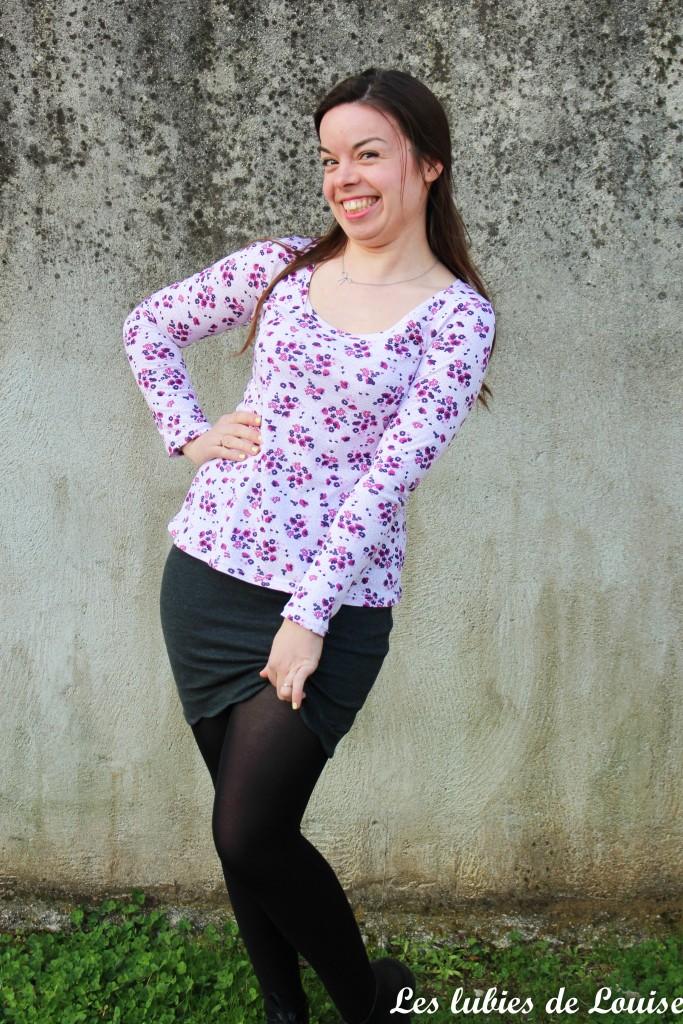 T-shirt plantain et jupe Manathan- les lubies de louise-7