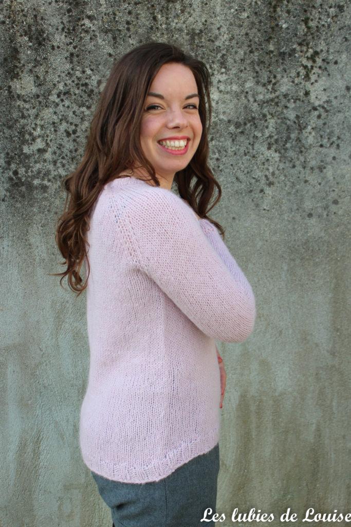 Mon tout premier pull en tricot - Les Lubies de Louise