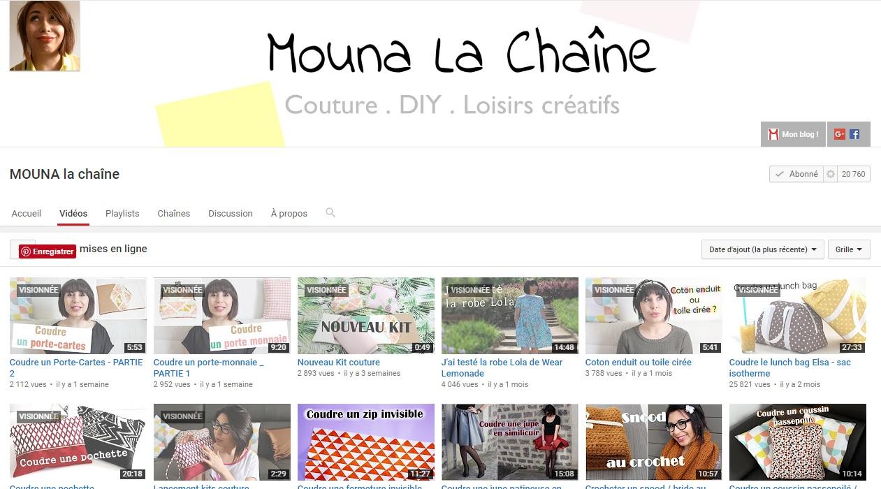 Présnetation Mouna le blog - les lubies de louise
