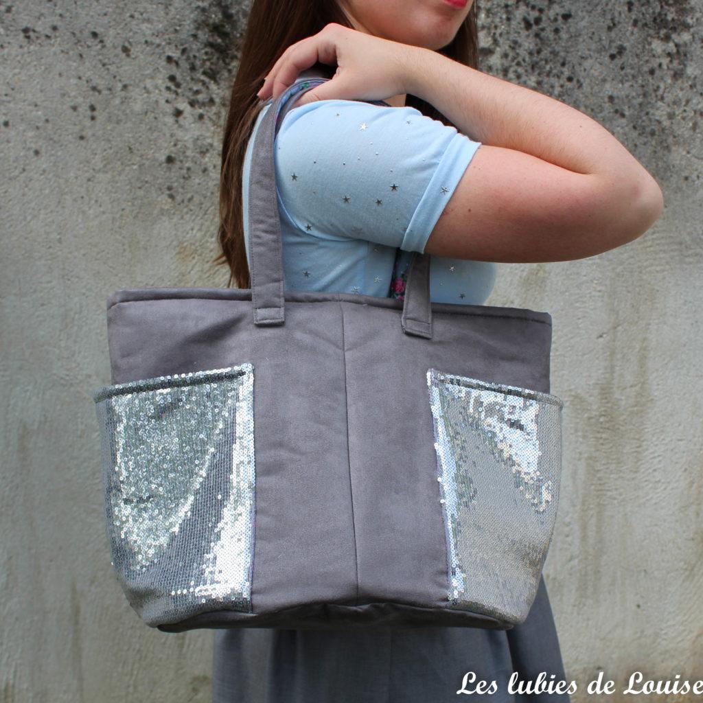 Le sac odéon : un modèle, deux versions