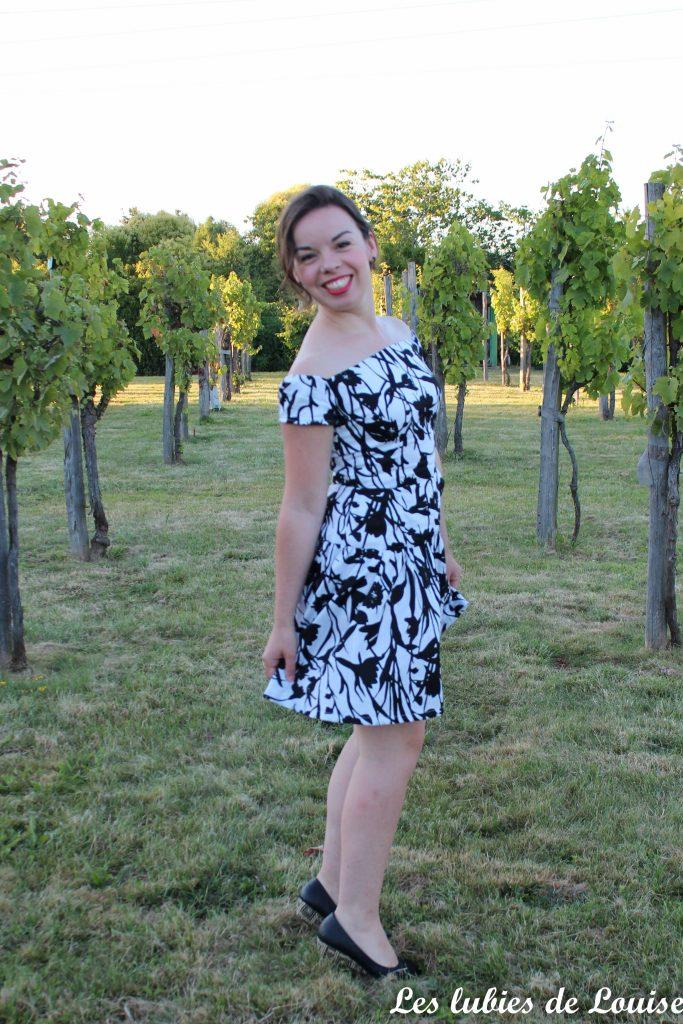Seda dress pauline alice black and white- les lubies de louise-18