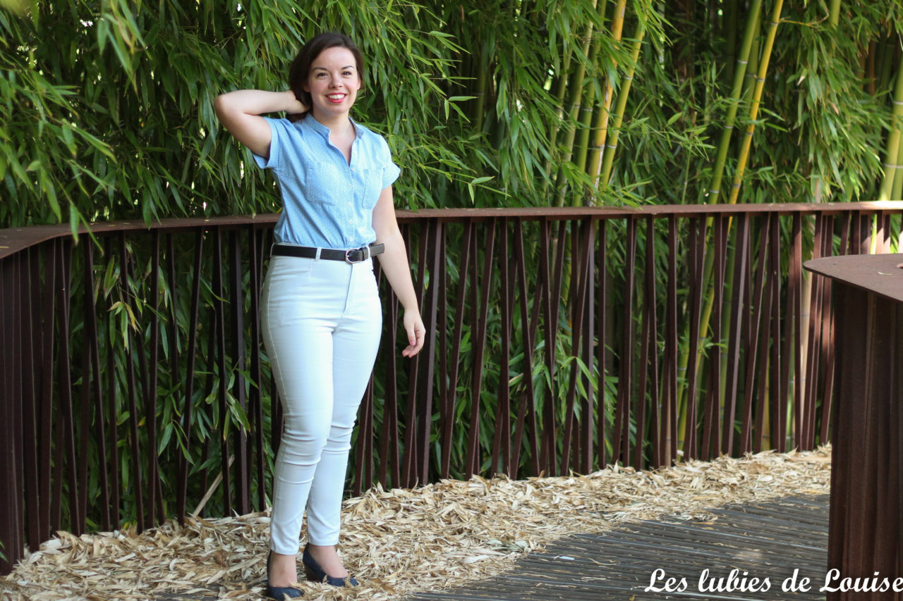 Safran, le pantalon de pin-up