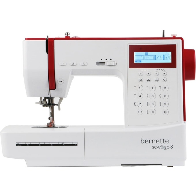Comparatif machine à coudre Bernette sew and go 8