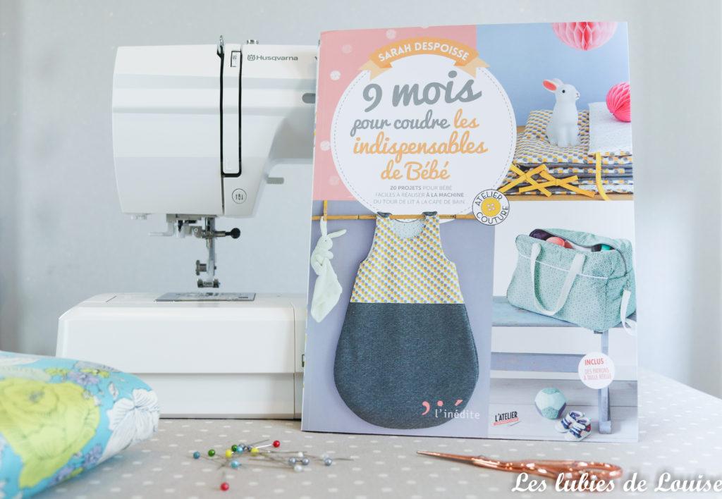 9 mois pour coudre les indispensables de bébé, le livre idéal pour les mamans !